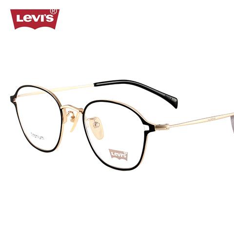 李维斯 LS97024 男女通用 眼镜框 C02黑金