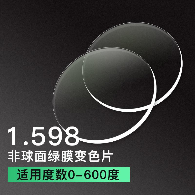 亿超卓效变色1.598超薄非球面变色镜片
