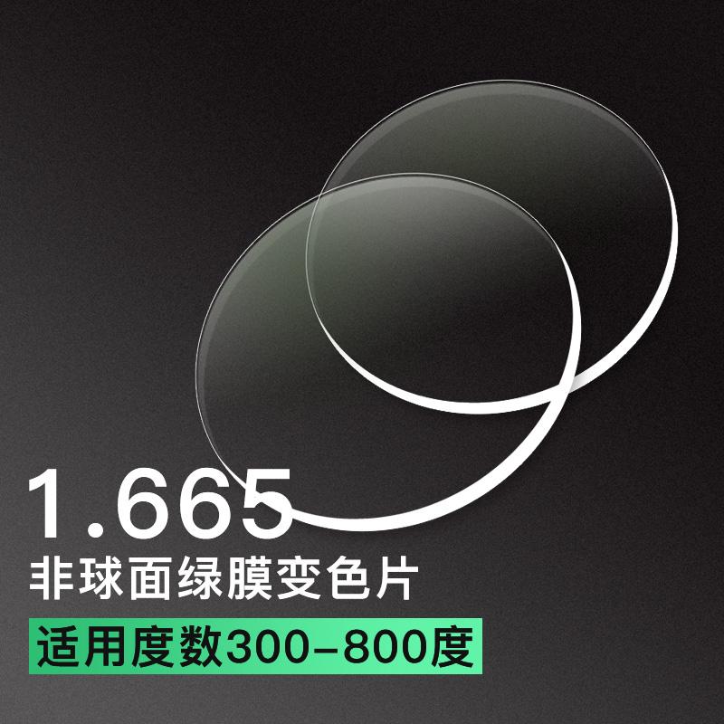 亿超卓效变色1.665超超薄非球面变色镜片