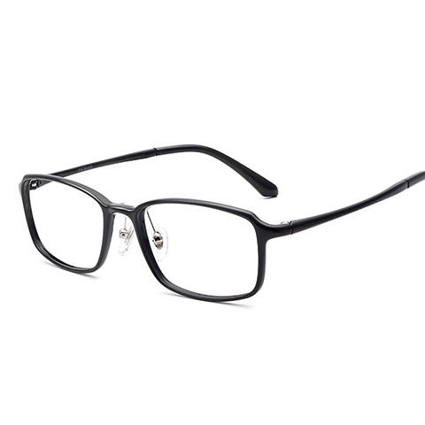 亿超 钨碳 全框眼镜框 黑色 百搭男女款 FB0067C01