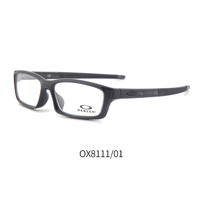 欧克利 OX8111 男士 眼镜框 01亮黑