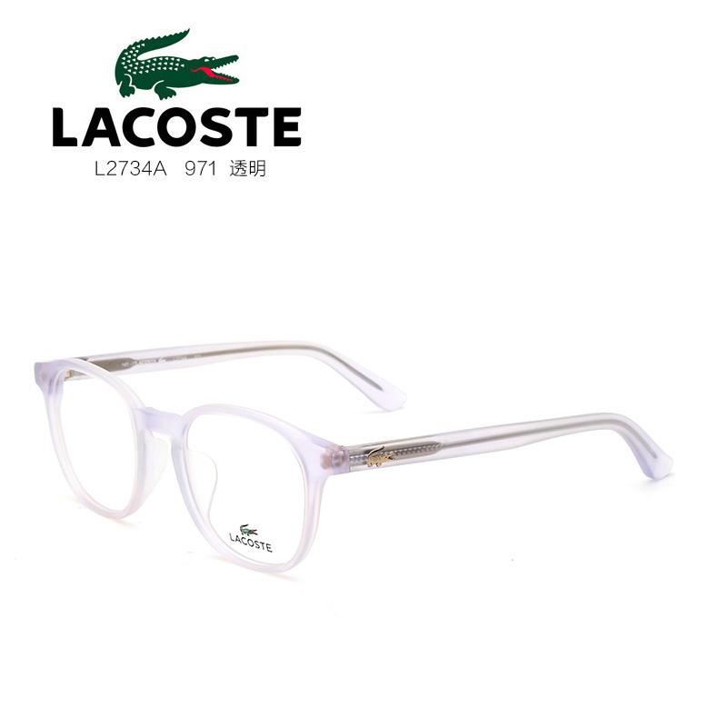 鳄鱼 L2734A 男女通用 眼镜框 971透明