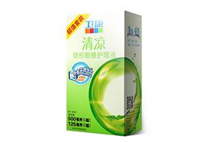 卫康清凉型隐形眼镜护理液500125ML护理液