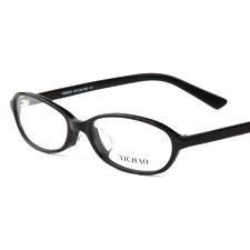 亿超FB5020C1黑色 新品板材 女士近视  薄片板材系列眼镜