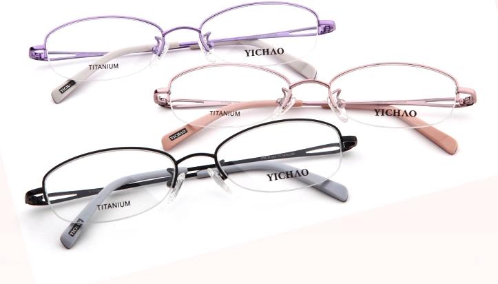 近视的女生选择什么颜色框架眼镜比较合适?