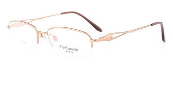 姬龙雪女士商务纯钛眼镜