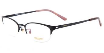 精工女士商务纯钛眼镜