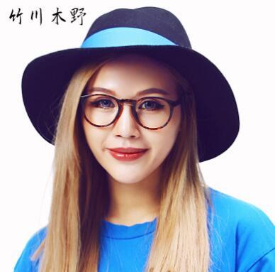 竹川木野 Z1611 男女通用 眼镜框 C3玳瑁